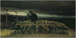 Van_Gogh_-_Shepherd_with_a_Flock_of_Sheep