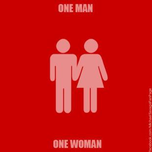 one-man-one-woman